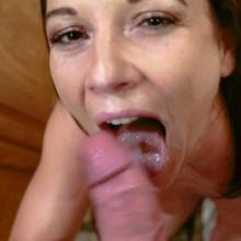 Mandy Flores - POV Blowjob - MYLF
