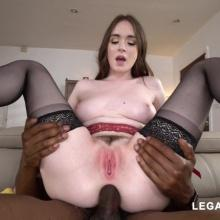 American Slut Hazel Moore - Perfect Gaping Anal cream Pie