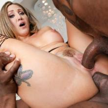 Betty Foxxx - BBC DP & Gaping! - Evil Angel