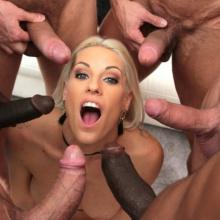 Blanche Bradburry endures 8 Double Anal positions