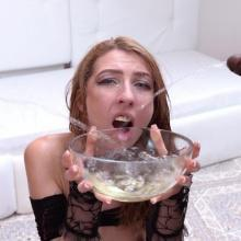 Halloween with Chanel Kiss Anal, DP, piss drinking & facial cumshot