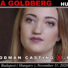 Vienna Goldberg first porn audition by Pierre Woodman