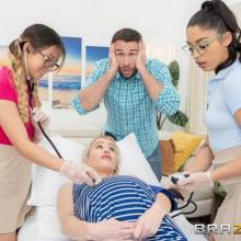 Lulu Chu & Vanessa Sky - Brazzers Exxtra - Squirt, Pop and Deliver