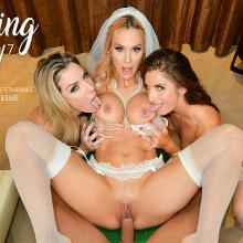Kayla Paige & Sarah Jessie & Silvia Saige - Naughty Weddings