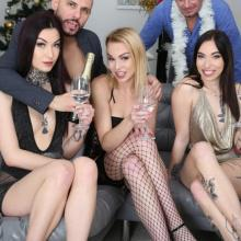 New Year's Eve 2020 (PART1) with Tabitha Poison, Giada Sgh & Rebecca Sharon