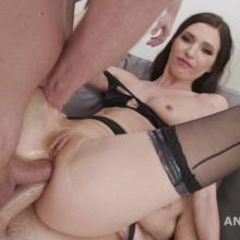 Lina Arian is Back with Double Anal, Triple penetration