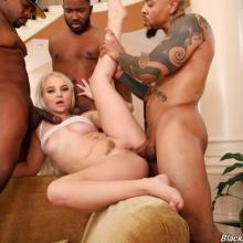 Bella Jane fucked by some Black cocks- Blacks On Blondes