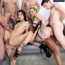 Alexxa Vice Vs Tabitha Poison #2 with ButtRose, Pee Drink & Double Anal