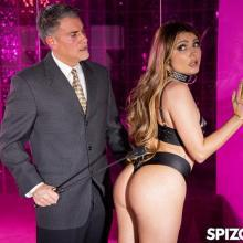 Adria Rae Dominated By A Horny Stud - Spizoo