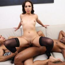 Amanda Borges Gangbanged with Double Anal & Triple Penetration