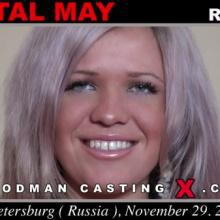 Russian teen Cristal May in Pierre Woodman Casting