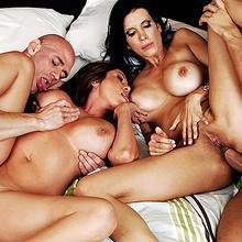 Cute asian whore Kianna Dior gets wild hard fuck in hot foursome orgy